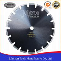 12-24 Smooth Cutting Asphalt Saw Blades With Drop Protection Segment Manufactures