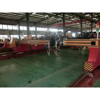 Automatic Cnc Flame Cutting Machines , Metal Steel Cutting Machine With Worktable Manufactures