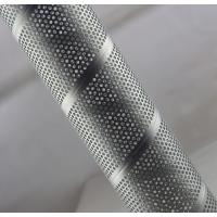 Galvanized Steel Spiral Perforated Tube Custom Length ASTM GB Rust Prevention Manufactures