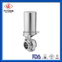 China Tri Clamp Ferrule Sanitary Stainless Steel Valves For  Food Process Industry on sale