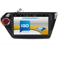 Black Android Car Navigation System Kia Rio Car Stereo With Bluetooth And Gps And Backup Camera Manufactures