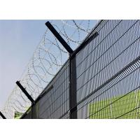 358 wire fence factory/ Ral6005 powder coated 358 wire fence Manufactures