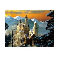 Stock Neuschwanstein Castle 3D Lenticular Living Room Painting Picture PET Printing Manufactures