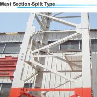 1.6*1.6*3m Split Sturcture Mast Section for 12ton 45m jib Luffing Tower Crane Manufactures