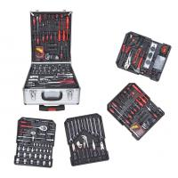 China Multifunction 186pcs Combination Hand Tool Set , Professional Household Socket Sets on sale