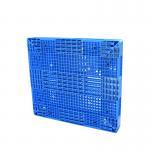 Single Faced HDPE Plastic Pallets / Blue Plastic Pallets 1000kgs 1500kgs 2000kgs Loading Manufactures