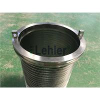WWE-178 Wedge Wire Filter Elements Long Slit High Flow Rate ISO Certification Manufactures