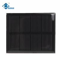 2V 0.25W sunpower solar cell for mini solar panel charger ZW-4741 Epoxy Resin Solar Panel Manufactures