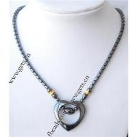 China Magnetic hematite necklace on sale