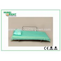 Blue Disposable Non Woven Bed Sheets for Hospital Clinic Beauty Center Use Manufactures