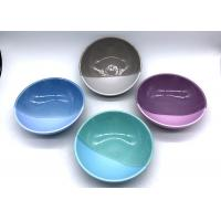 2 Tone Color Candy Salad Bowl Ceramic Houseware Set Of 4 Customized Color And Shaped Manufactures
