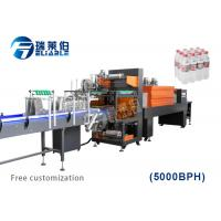 Small Linear Type Auxiliary Equipment Full Automatic PE Film Packing Machine Manufactures