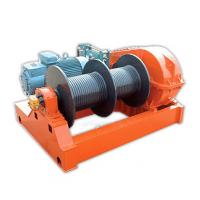 Fast Speed 1 Ton - 10 Ton Electric Wire Rope Winch  , Winding Engine JKD Series Manufactures