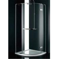 Stainless Steel Frame Glass Bathroom Shower Enclosures , B&Q Shower Cubicles For Home Manufactures