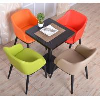 Morden Dining chair with table\Luxury fashion leisure chair with table\Smashing industrial coffee room chair with table