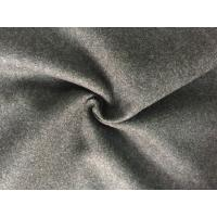 57/58 Inch Coat Weight Wool Fabric Woven Technics For Grement , Wool Flannel Cloth Manufactures