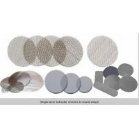Circle extruder  screens in single or multilayer keep particles out/filter disc mesh Manufactures