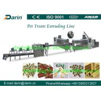 Pet Soft Treat Dog Food Extruder Processing Line with single screw Manufactures