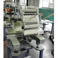 Mixed flat 9 Needle Single Head Embroidery machine for Sweat Suits / Pet Apparel Manufactures