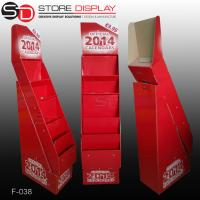 pos red calender floor display stand Manufactures