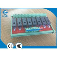 8-Channel Omron Relay Module/card Pluggable PLC Relay Module Manufactures