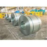 Cold Rolled Galvanised Steel Coil , Coated Surface ASTM Steel Plate Manufactures