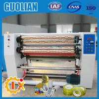 GL-215 Factory outlet bopp tapes slitting and rewinding machine Manufactures
