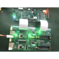 4 Layer LED PCB Assembly FR4 green soldermask green red 0.1MM Min width Manufactures
