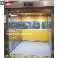 China Auto-Fast Rolling Door Air Shower for Material pass through on sale