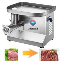 Electric Meat Mincer Grinding Machine  Type Meat Pork Grinder Paste Machine Manufactures