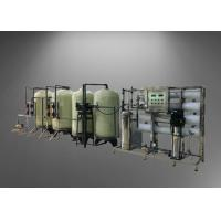 China 4TPH RO Machine With Standby Water Softener System For Remove Dissolved Solids From Water on sale