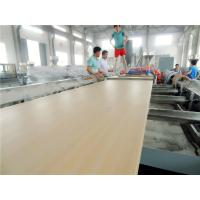 China WPC door board extrusion line PVC Window Board Production Line on sale