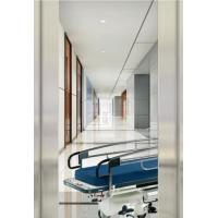Automatic Door Type Hospital Bed Elevator , Hairline Stainless Steel Elevator Manufactures