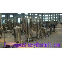 Stainless Steel Gravity Juice Filling Machine High Speed With PLC Control Manufactures