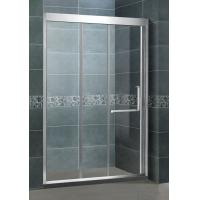 Inline Stainless Steel Glass Shower Screens Two Sliding Door 8 MM CE / SGCC Certification Manufactures