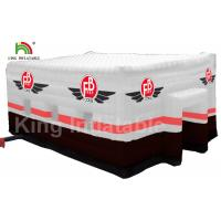 China 210D PVC Fabric Square Inflatable Wedding Party Event Size 15 * 10m on sale