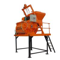 China Cement Concrete Mixer JS500 Concrete Mixer Industrial Concrete Mixer for sale