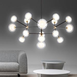 China Modern Black Gold basic pendant light For Foyer Bedroom Kitchen Pendant lamp (WH-AP-64) on sale