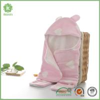 Wholesale in stock Polyester and Cotton Baby Swaddle Blanket for Summer Manufactures