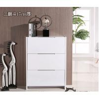 Factory wholesale 3171 ultra-thin minimalist modern white paint tipping shoe storage cabinet dust foyer Manufactures