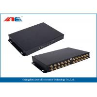 Quality 24 Channels Long Distance RFID Reader , Long Range RFID Card Reader Metal Plate for sale