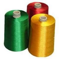 China Polyester yarn dyed on cone on sale
