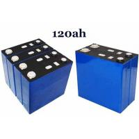 China 3.2 v 120ah solar battery for solar battery backup and lifepo4 motorcycle battery on sale