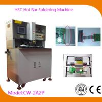 USB Automatic Hot Bar Soldering Machine with 0.02mm Welding Head Flatness , CW-2A2P Manufactures