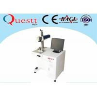 Compact 20w Fiber Laser Marking Machine Etching On Metal Parts Printing Color Manufactures