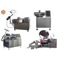 Commercial Vacuum Small Meat Bowl Cutter Electrical Sausage Bowl Cutter Manufactures