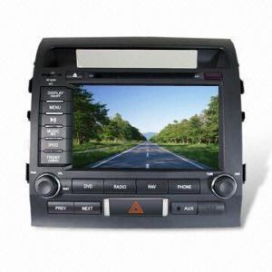 GPS Navigator for Toyota Landcrusier, with Japan Shinwa DVD Manufactures