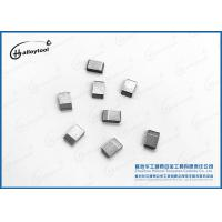 China Pretinned Tungsten Carbide Saw Tips For Saw Blade Cutter Teeth on sale