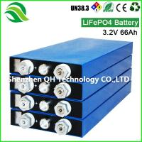China Best Price 3.2V 66AH LiFePO4 Battery Cell Deep Cycle Li-ion For Off Grid PV Home Energy Storage on sale