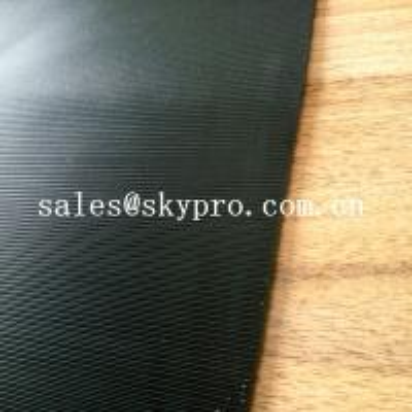 Quality 3.5mm Diamond Black Rigid Rational Construction Natural Shoe Sole Rubber Sheet for sale